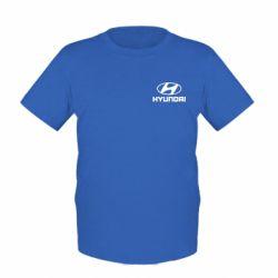 Детская футболка Hyundai Small - FatLine