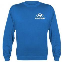 Реглан (свитшот) Hyundai Small - FatLine