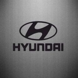 Наклейка HYUNDAI - FatLine