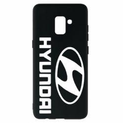 Чехол для Samsung A8+ 2018 HYUNDAI