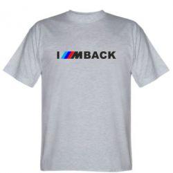 Чоловіча футболка I am BACK
