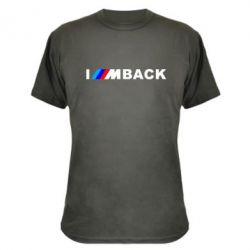 Камуфляжная футболка I am BACK