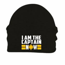 Шапка на флісі I am captain now