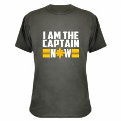 Камуфляжна футболка I am captain now