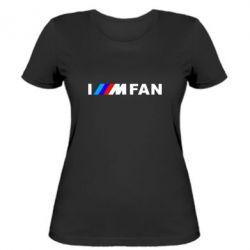 Жіноча футболка I am FAN