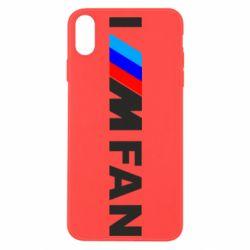 Чохол для iPhone Xs Max I am FAN