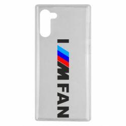 Чохол для Samsung Note 10 I am FAN
