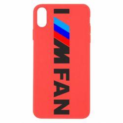 Чохол для iPhone X/Xs I am FAN