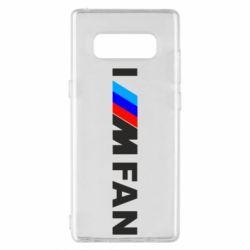 Чохол для Samsung Note 8 I am FAN