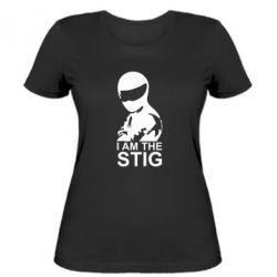 Женская футболка I am the Stig - FatLine