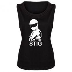Женская майка I am the Stig - FatLine