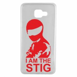 Чехол для Samsung A7 2016 I am the Stig - FatLine