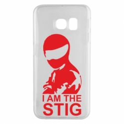 Чехол для Samsung S6 EDGE I am the Stig - FatLine