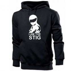 Мужская толстовка I am the Stig - FatLine