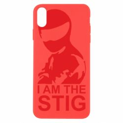 Чехол для iPhone Xs Max I am the Stig - FatLine