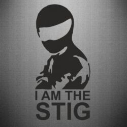 Наклейка I am the Stig - FatLine