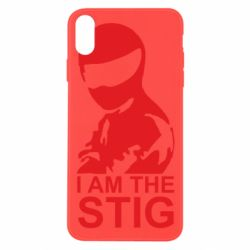Чехол для iPhone X I am the Stig - FatLine