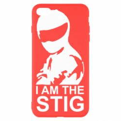 Чехол для iPhone 8 Plus I am the Stig - FatLine