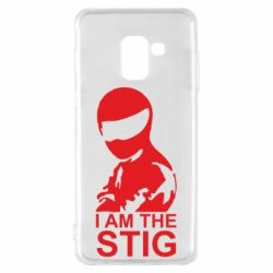 Чехол для Samsung A8 2018 I am the Stig - FatLine