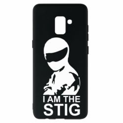 Чехол для Samsung A8+ 2018 I am the Stig - FatLine