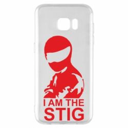 Чехол для Samsung S7 EDGE I am the Stig - FatLine
