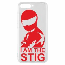Чехол для Huawei Y6 2018 I am the Stig - FatLine