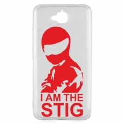 Чехол для Huawei Y6 Pro I am the Stig - FatLine