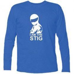 Футболка с длинным рукавом I am the Stig - FatLine