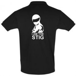 Футболка Поло I am the Stig - FatLine