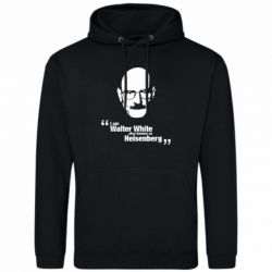 Толстовка i am walter white also known as heisenberg - FatLine