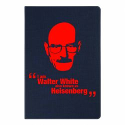 Блокнот А5 i am walter white also known as heisenberg