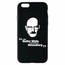 Чехол для iPhone 6/6S i am walter white also known as heisenberg