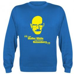 Реглан (свитшот) i am walter white also known as heisenberg - FatLine