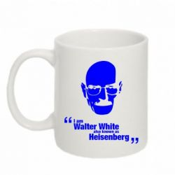 Кружка 320ml i am walter white also known as heisenberg - FatLine
