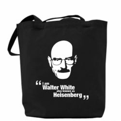 Сумка i am walter white also known as heisenberg - FatLine