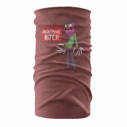 Бандана-труба I am yours nightmare BITCH
