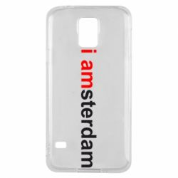 Чохол для Samsung S5 I amsterdam