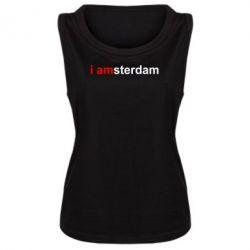Женская майка I amsterdam - FatLine