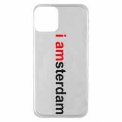 Чохол для iPhone 11 I amsterdam