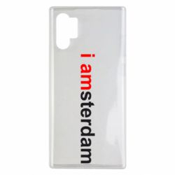 Чохол для Samsung Note 10 Plus I amsterdam