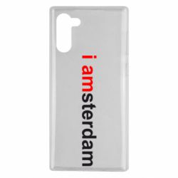Чохол для Samsung Note 10 I amsterdam