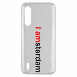 Чохол для Xiaomi Mi9 Lite I amsterdam
