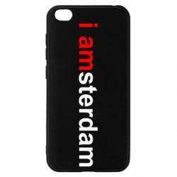 Чохол для Xiaomi Redmi Go I amsterdam