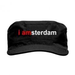 Кепка мілітарі I amsterdam