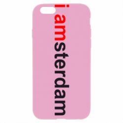 Чехол для iPhone 6 I amsterdam