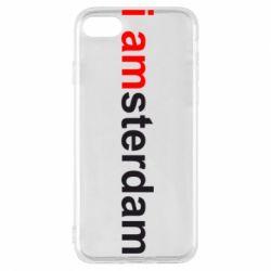 Чехол для iPhone 7 I amsterdam