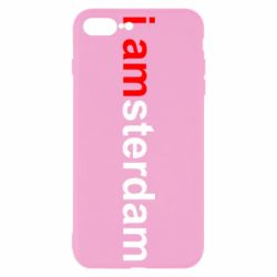 Чохол для iPhone 7 Plus I amsterdam
