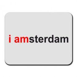 Коврик для мыши I amsterdam - FatLine
