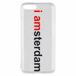 Чохол для Xiaomi Mi6 I amsterdam