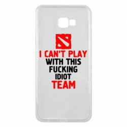 Чохол для Samsung J4 Plus 2018 I can't play with this fucking idiot team Dota